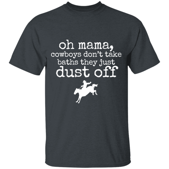 cowboys just dust off Youth 100% Cotton T-Shirt