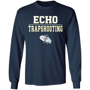 Echo Trapshooting Long Sleeve Ultra Cotton T-Shirt