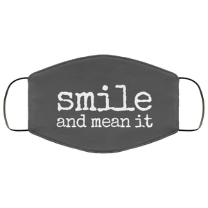 Smile Face Mask Med/Large