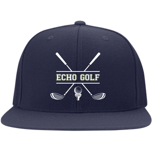Echo Golf Flat Bill Twill Flexfit Cap