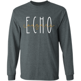 Echo Cougars Long Sleeve Ultra Cotton T-Shirt