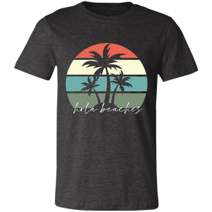 Hola Beaches Unisex Jersey Short-Sleeve T-Shirt