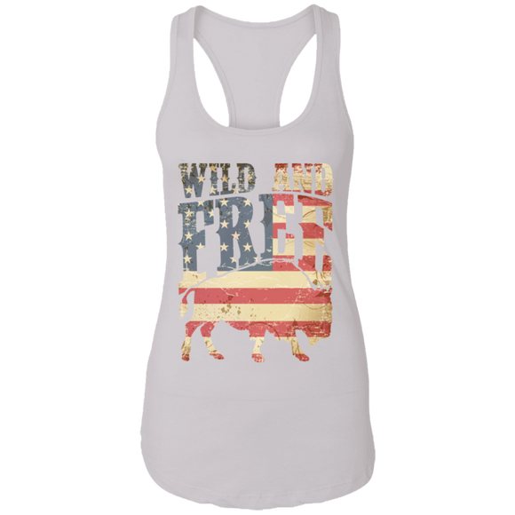 Wild and Free Ladies Ideal Racerback Tank