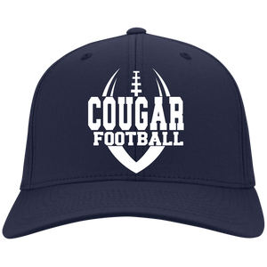 Cougar Football Flex Fit Twill Baseball Cap