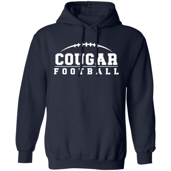 Cougar  Football Pullover Hoodie
