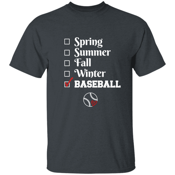 baseball season Youth 100% Cotton T-Shirt