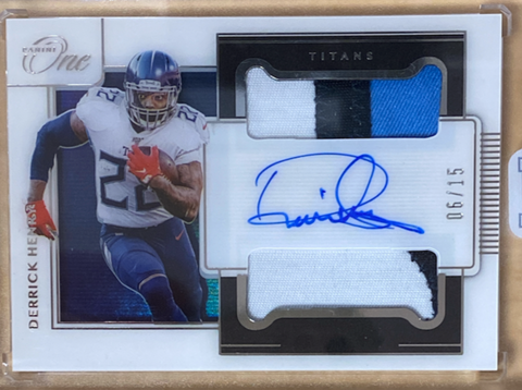 DERRICK HENRY - 2020 Football One Patch Auto 6/15