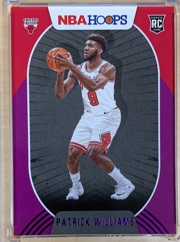 PATRICK WILLIAMS - 2020-21 Basketball Hoops Purple Rookie