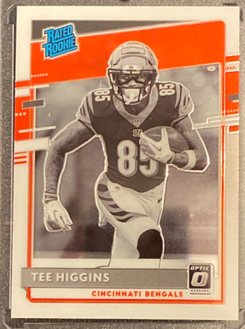 TEE HIGGINS - 2020 Football Optic Negative Prizm Rookie