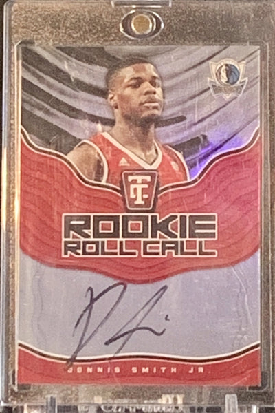 DENNIS SMITH JR - Rookie Roll Call Auto