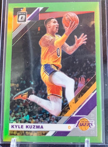 KYLE KUZMA - 2019-20 Donruss Optic Lime Green Prizm 82/149