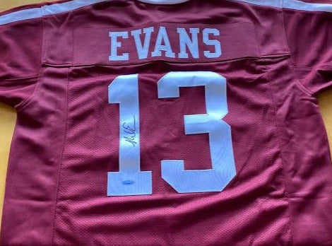 MIKE EVANS - Tristar Authentic Texas A&M Signed Jersey