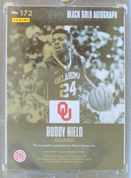 BUDDY HIELD - 2016 Basketball Black Gold Collegiate Autographs 29/99