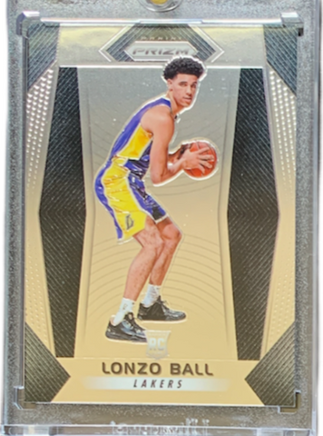 LONZO BALL - 2017-18 Basketball Prizm Base Rookie