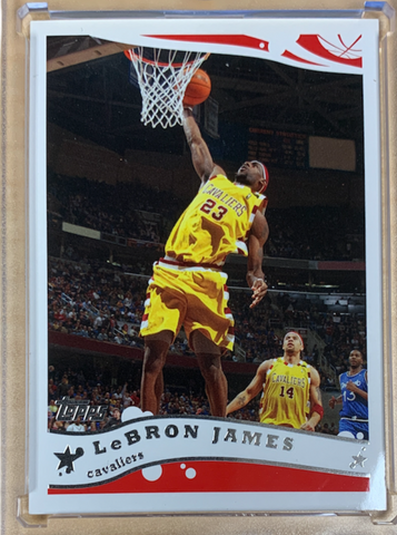 LEBRON JAMES - 2004-05 Basketball Topps