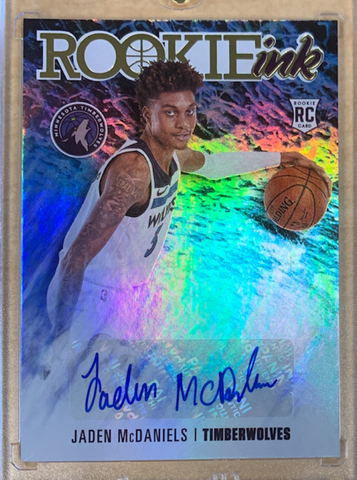 "JALEN McDANIELS - 2020-21 Basketball Hoops ""Rookie Ink"""