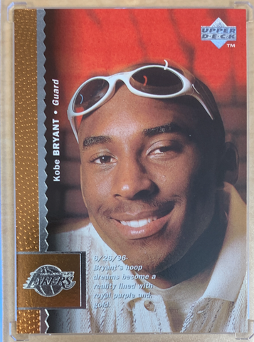 KOBE BRYANT - 1996-97 Basketball Upper Deck Rookie