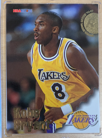KOBE BRYANT - 1996-97 Basketball Skybox NBA Hoops Rookie