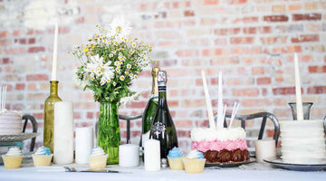 Champagne Centrepieces