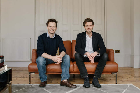 Sip Champagnes founders Peter Crawford and Daniel Blatchford