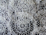 Lace Doily Rounds, Set of 12 Vintage Doilies
