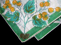 May Flower of the Month Hawthorn Vintage Handkerchief, Kimball