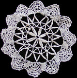Cluny Lace Rounds Vintage Doilies, Set of 8