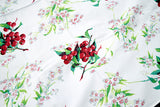 Cherry Blossom Vintage Wilendur Tablecloth 47x54