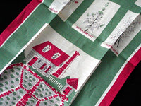 Kitchen and Herb Garden Williamsburg, VA Vintage Linen Tea Towel