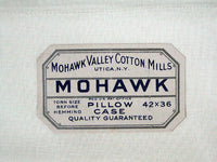 New Old Stock Vintage Mohawk Cotton Pillowcases, Pair