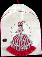Southern Belle Mixer Cover Vintage Imperial Linens New Old Stock
