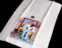 Just Married Vintage Tea Towel, Unused - MWT