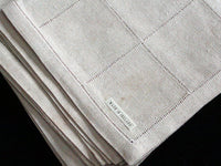 New Old Stock Set of 4 Vintage Linen Napkins Made in Ireland