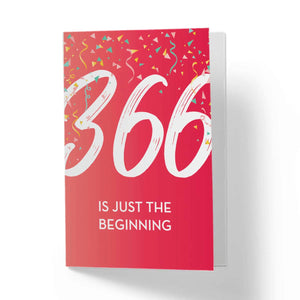 365 is Just The Beginning