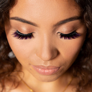 Violet Butterfly Lash Set