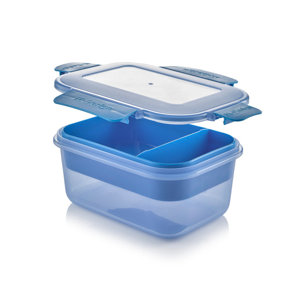 Fresco Lunch Box Pack of 3 - 1100ml - Free 9 Pc. Cutlery Set