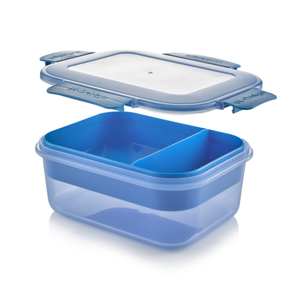 Fresco Lunch Box Pack of 3 - 1600ml - Free 9 Pc. Cutlery Set