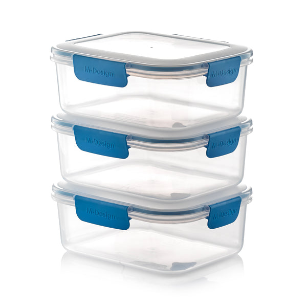 Fresco Food Container Set - 2100ml