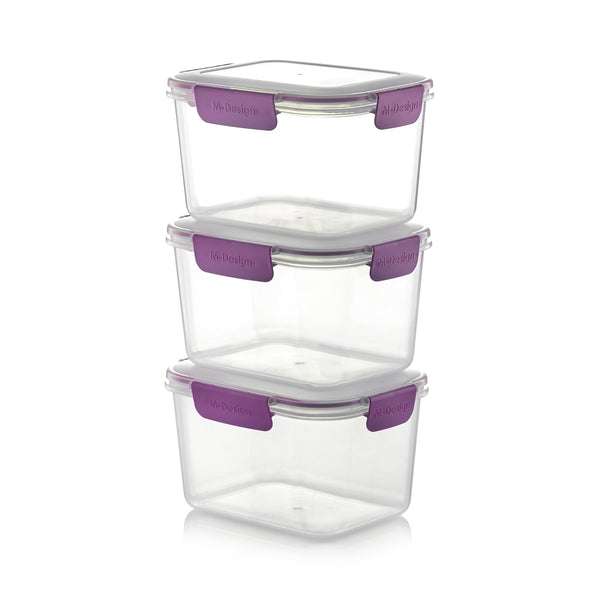 Fresco Food Container Set - 2300ml