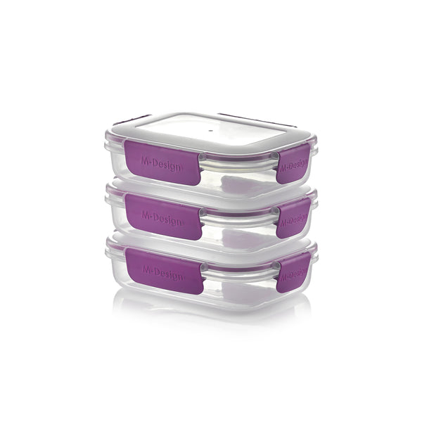 Fresco Food Container Set - 600ml