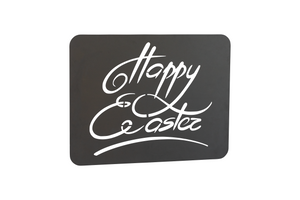 Rostdekoschild - Happy Easter