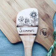 Summer | Four Seasons | Seasonal Wood Kitchen Utensil
