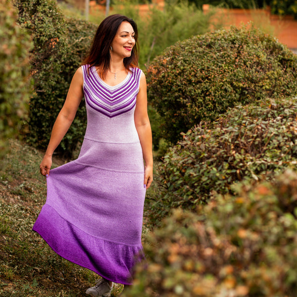 The violet dream dress