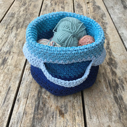 Crochet pattern 'Is it a bag or a basket'
