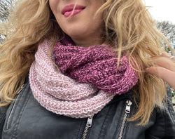 FREE knitting pattern 'Super Treccia Wrap'