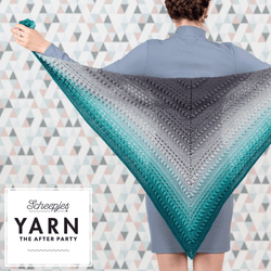 Yarn The after party no.9 Stormy day shawl