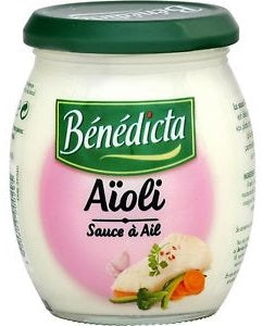 Benedicta Aioli Sauce (Garlic Sauce for Fish)  8.8 oz