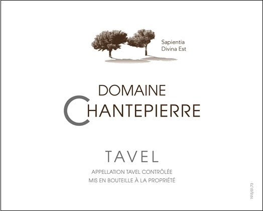 2019 Domaine Chantepierre Tavel