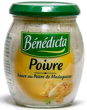 Benedicta Sauce of Poivre (Peppercorn) 8.8 oz