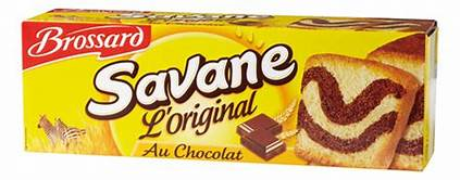 BROSSARD Savane - French Chocolate Marble Cake